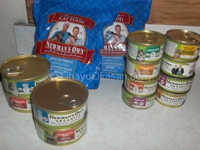 Newman's Own Organic Pet food