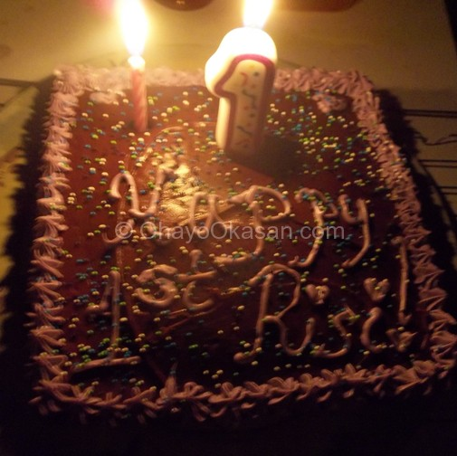 Risi's Smash Cake