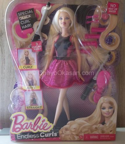 Endless Curls Barbie