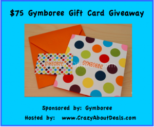 $75 Gymboree Gift Card Giveaway, www.CrazyAboutDeals.com reviews,