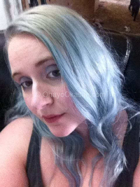 Supposed to be silver hair