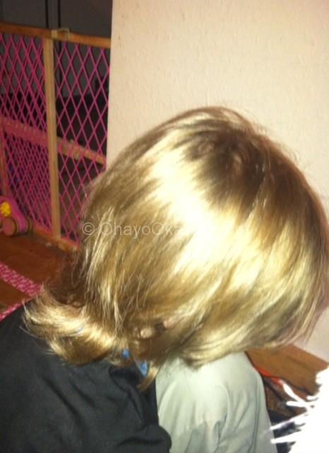Wordless Wednesday - Very Var - Haircut