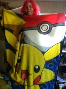 Pikachu Throw Blanket