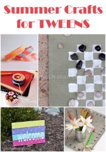 Summer crafts for tweens