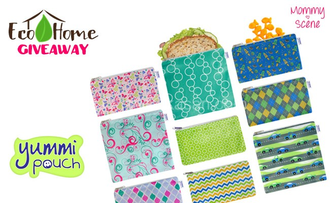 Eco-Home Giveaway - Yummi Pouch Snack Bags