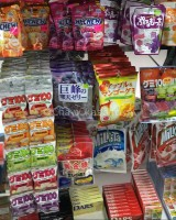 Japanese Snacks/Candy at Daiso Japan