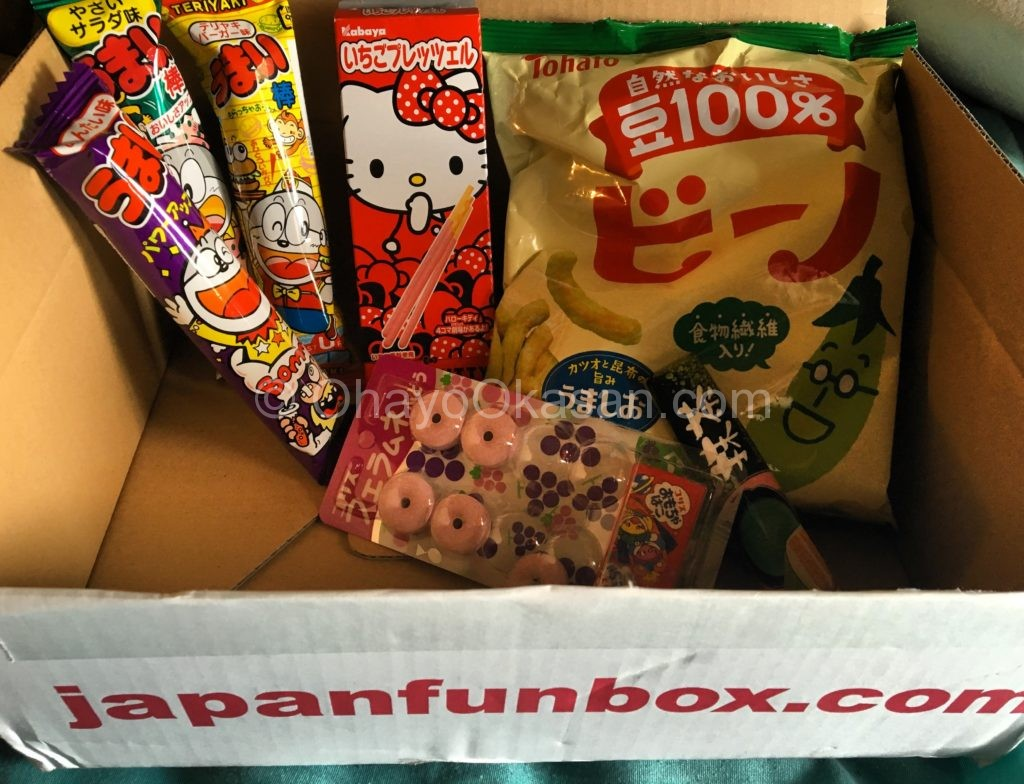 Japanese Candy and Snacks from Japan Fun Box