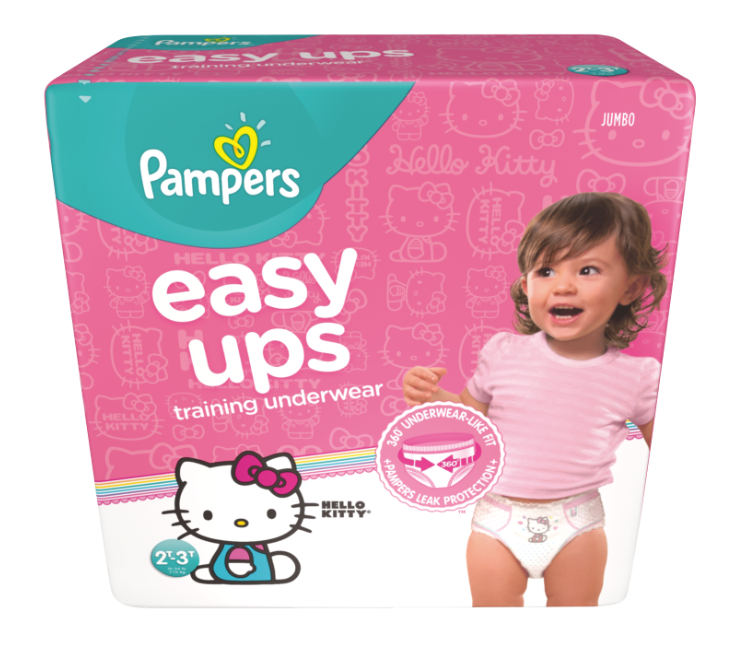 Pampers Easy Ups Hello Kitty Package