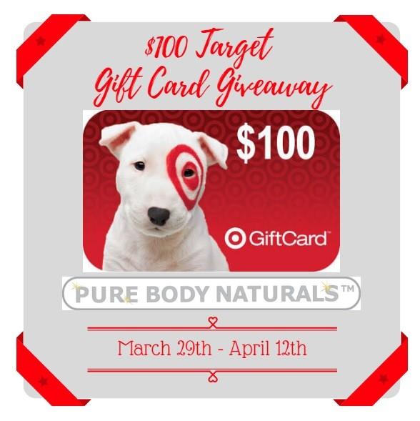 $100 Target Giveaway