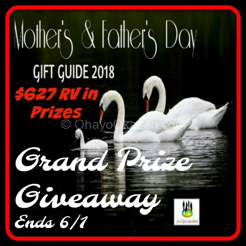Mother's and Father's Day Giveaway