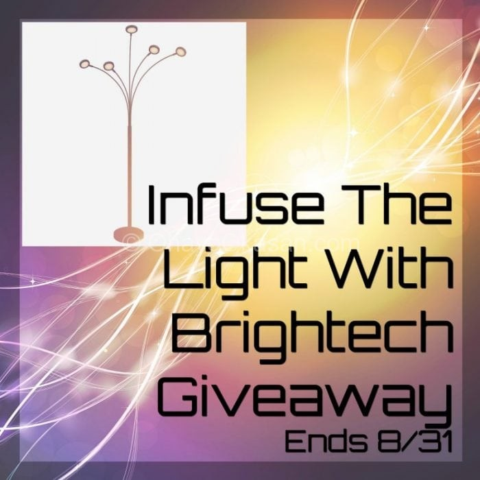 Infuse The Light With Brightech Giveaway Ends 8/31