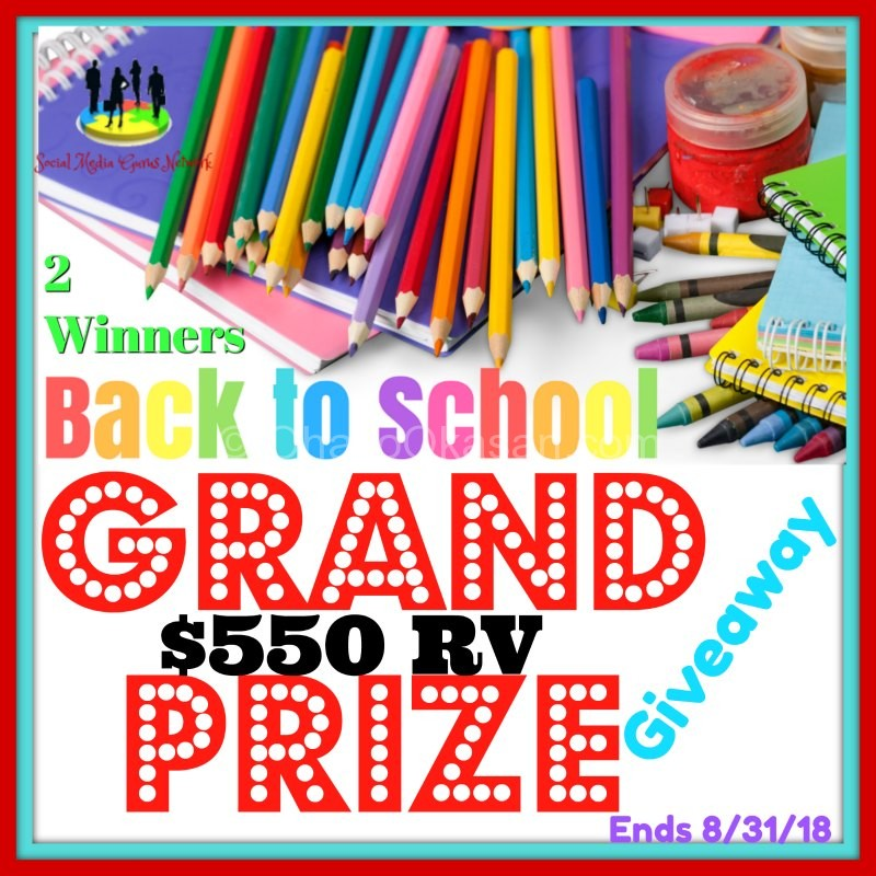Back To School Grand Prize Giveaway