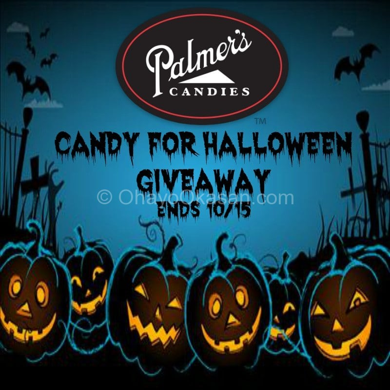 Candy For Halloween Giveaway Ends 10/15