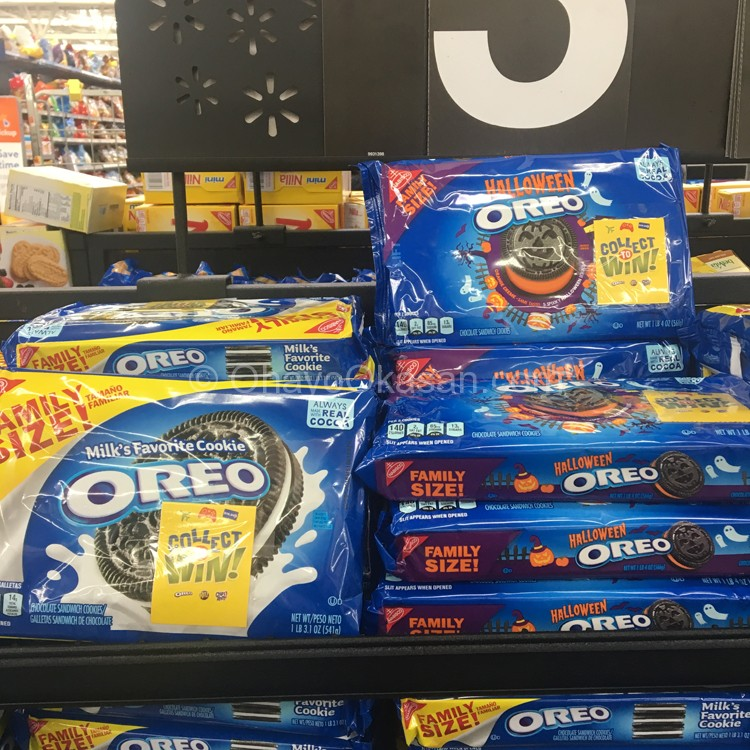 OREO cookies, Collect To Win! promotion at Walmart