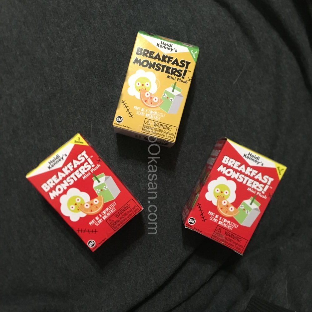 Breakfast Monsters mini plush